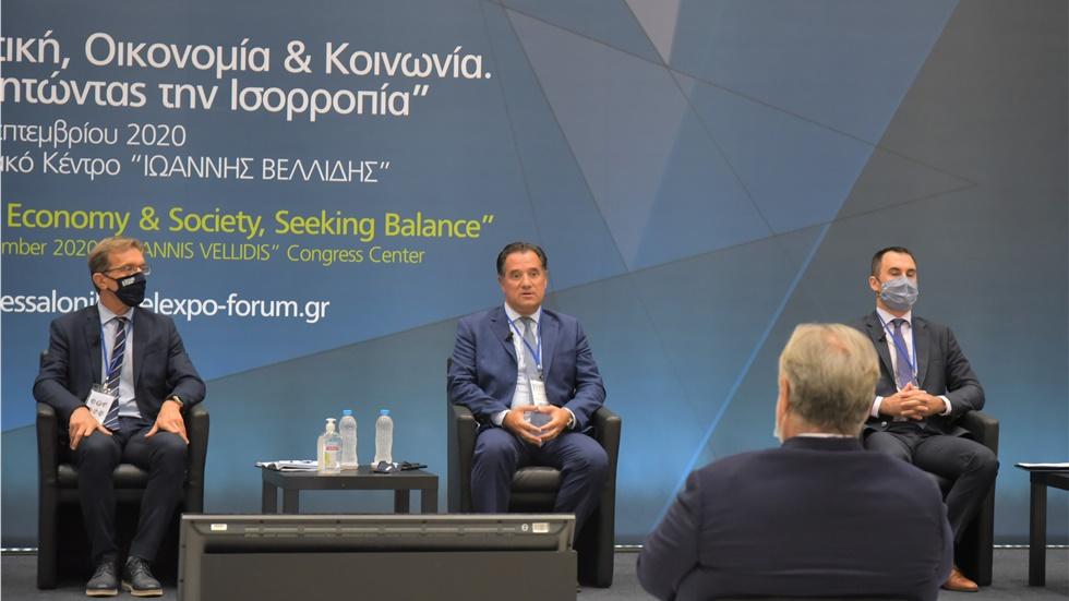 Thessaloniki Helexpo Forum: Πρωταγωνιστικός   ο ρόλος της βιομηχανίας...