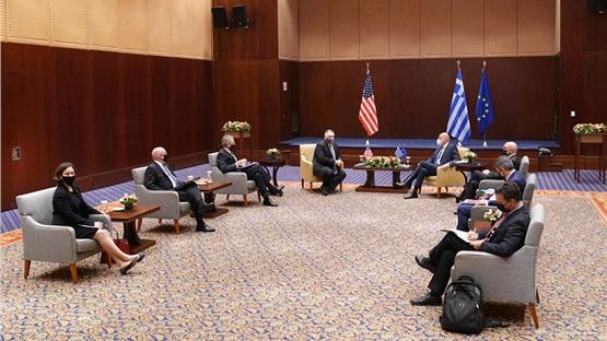 Κοινή Δήλωση Ελλάδας - ΗΠΑ: Επιβεβαιώνονται οι εξαιρετικές διμερείς...