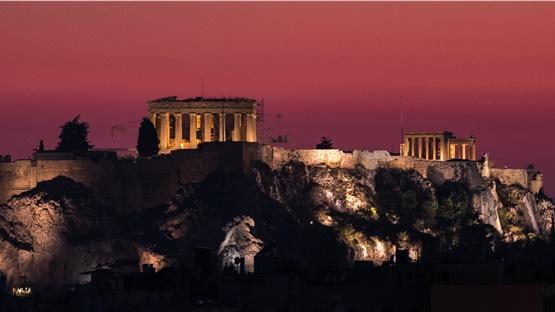 Αποδίδεται, αύριο, ο νέος φωτισμός της Ακρόπολης