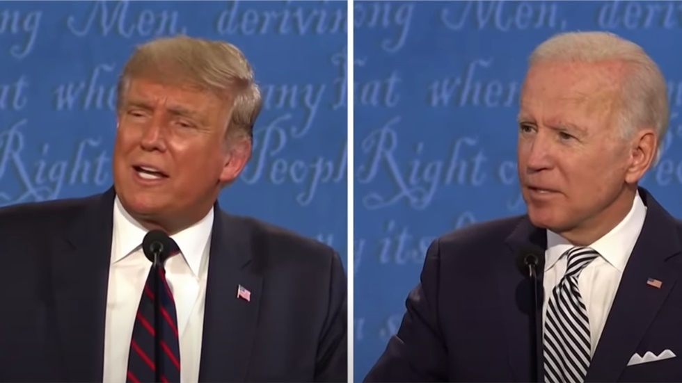 The top moments from the first presidential debate between Donald...