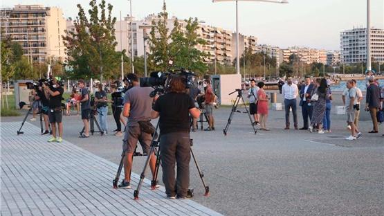 Γυρίσματα στη Θεσσαλονίκη για δημοφιλές τηλεπαιχνίδι γαλλοβελγικής...
