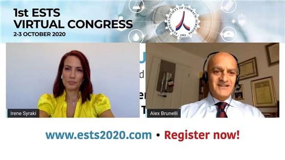 Alex Brunelli - ESTS Secretary General & President Elect