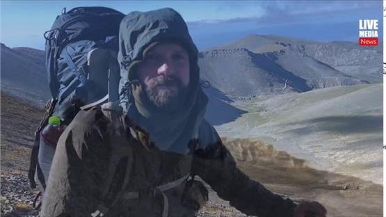Το ταξίδι του Lorenzo Nerantzis στον Όλυμπο συνεχίζεται! 12 Ορειβατικά Καταφύγια, 86km,