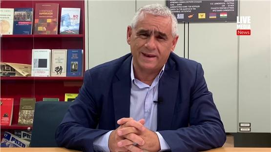 Ο Κωνσταντίνος Κούσαντας, αντιστράτηγος ε.α  μιλά για τα ελληνοτουρκικά