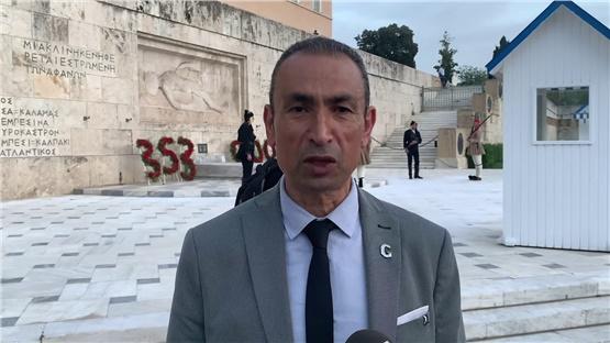 Ο Χρήστος Δημόπουλος, πρόεδρος του ΣΠΣΝΕ και Νήσων αναφέρεται στη Γενοκτονία του Πόντου
