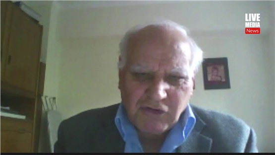 Κωνσταντίνος Τριανταφυλλίδης: Τα νεότερα της έρευνας για τη θεραπεία από τον Κορονοϊό