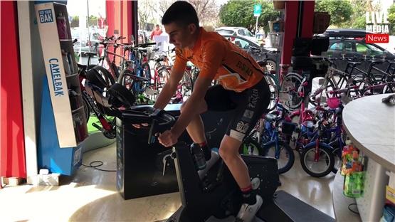 Μένουμε σπίτι... και κάνουμε ποδήλατο με neo smart bike!