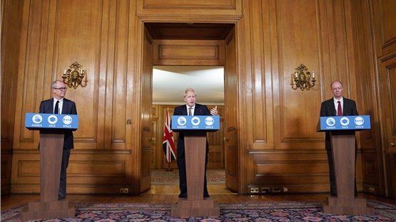 Prime Minister announces new lockdown rules for England