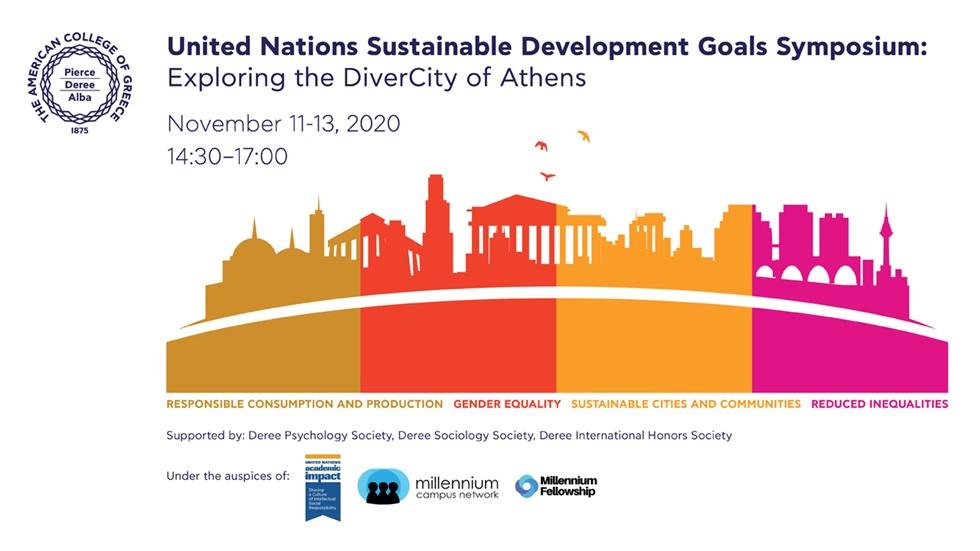 UN SDGs Symposium: Exploring the DiverCity of Athens