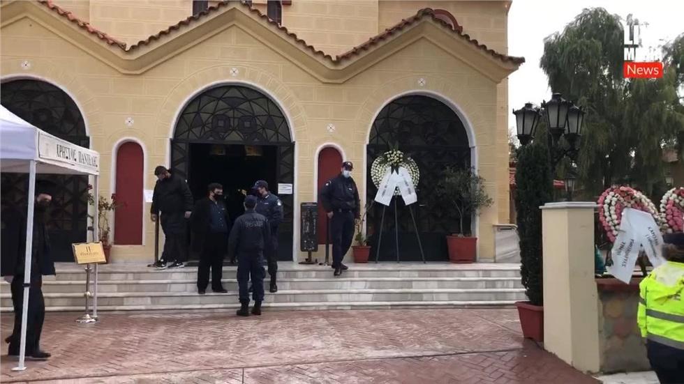 Δηλώσεις Δημάρχου Λαγκαδά Ιωάννη Ταχματζίδη λίγο πριν την Κηδεία...