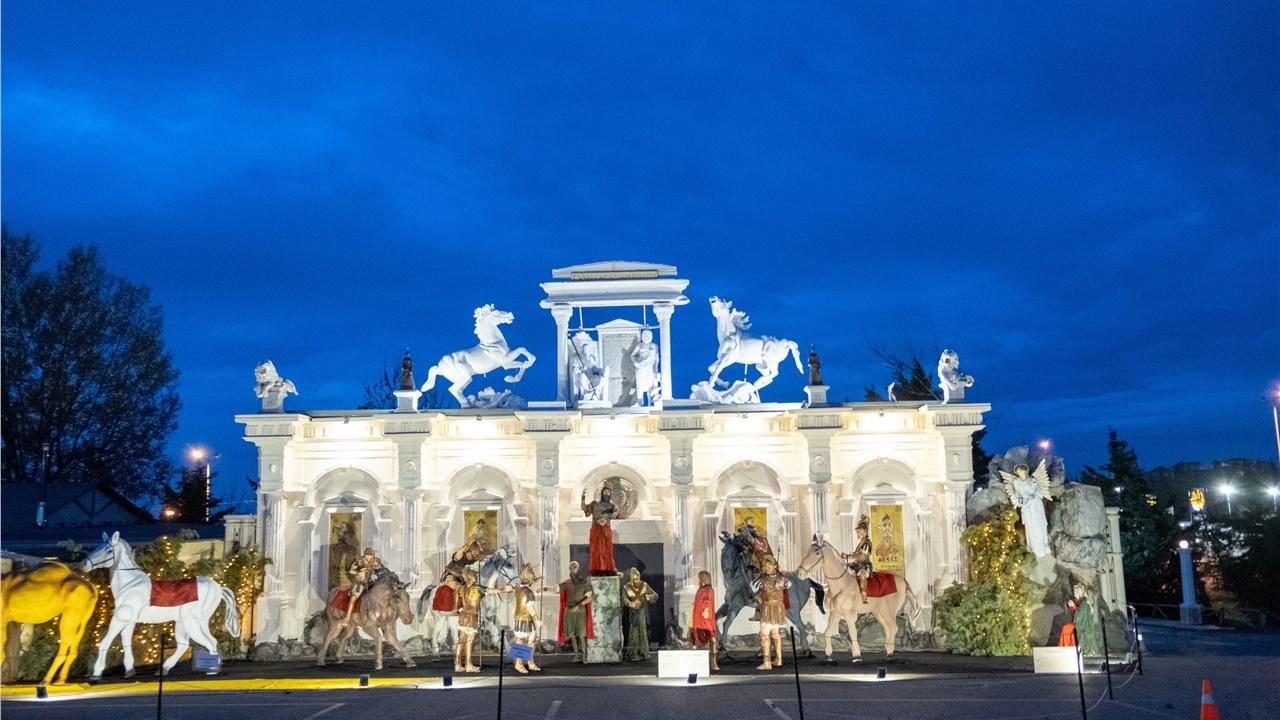 Η Θεσσαλονίκη φιλοξενεί τη μεγαλύτερη φάτνη της Ευρώπης
