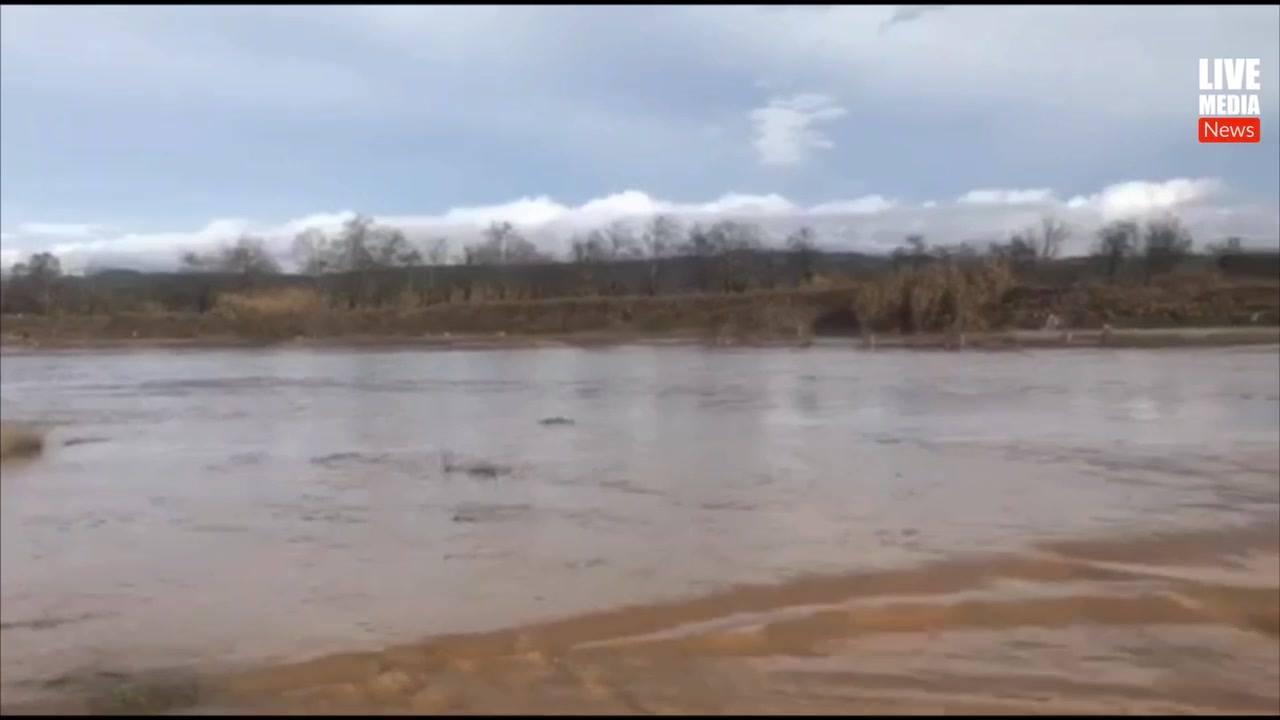 Πλημμύρισε ο επαρχιακός δρόμος Ασσήρου - Λαγκαδά στο ύψος της...