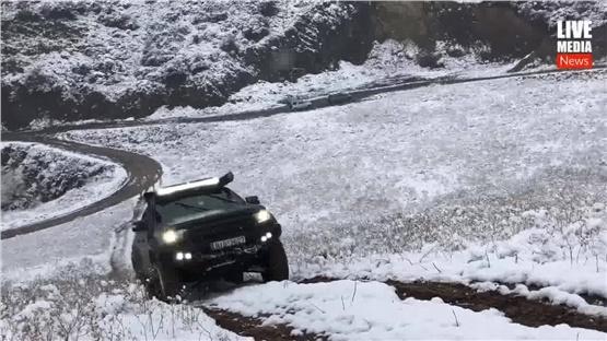 Κυνηγώντας το Χιόνι με Ford Ranger Raptor γύρω από τη Θεσσαλονίκη....