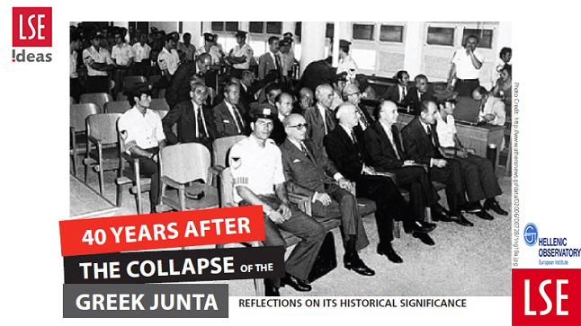 Events | 40 Years after the collapse of the junta. Reflections on its Historical Significance