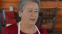 Η κυρία Σοφία Σοάνη απο τον γυναικείο αγροτικό συνεταιρισμό Αγίου Αντωνίου.