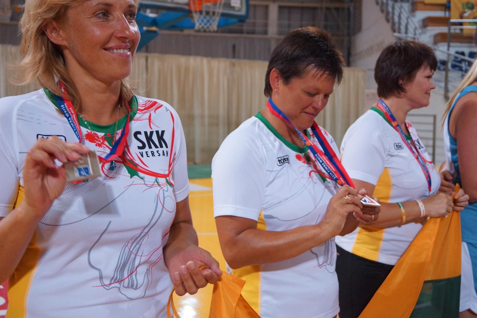 Medals 35+F