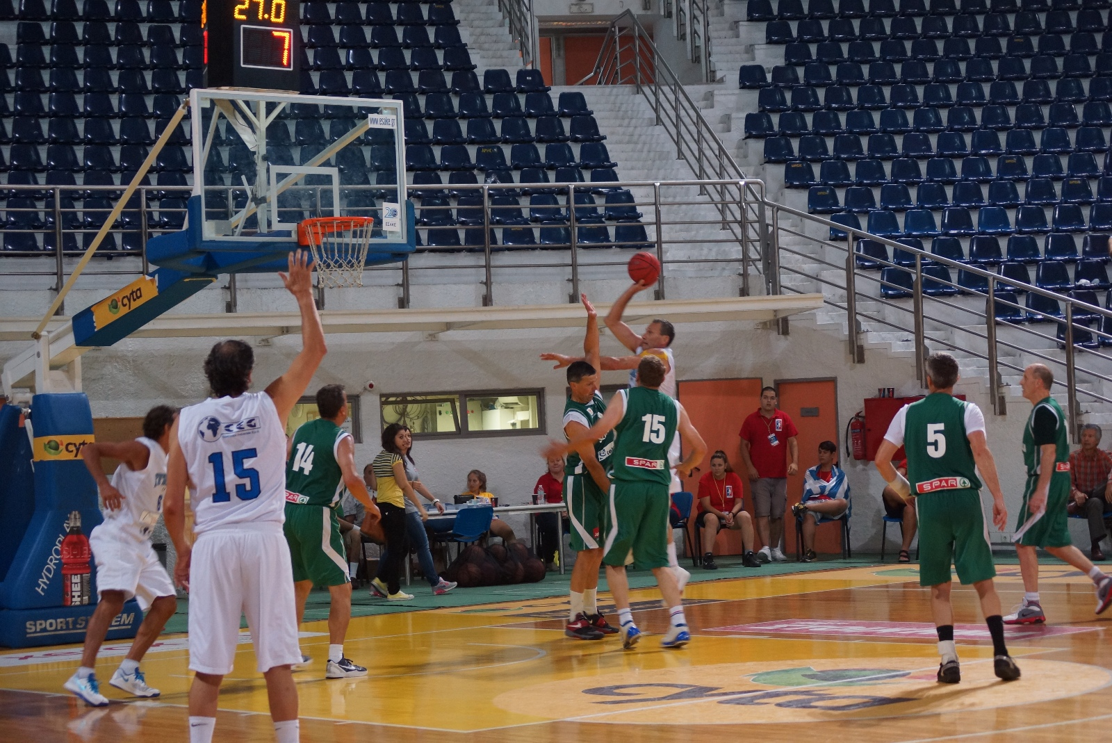 ALEXANDRION 1 |  M50+ |ITALY - LUXURIS SLOVENIA B | Final
