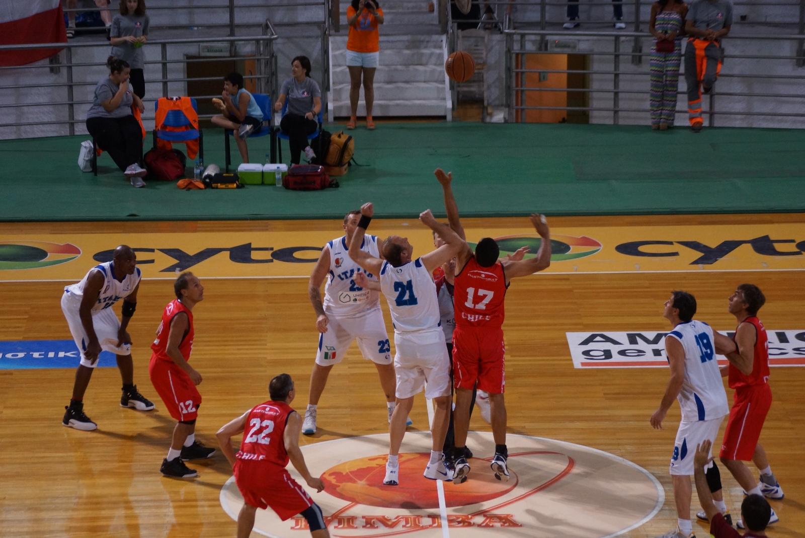 ALEXANDRION 1 | M45+ | 45 AÑOS CHILE - MASTER BASKET ITALIA