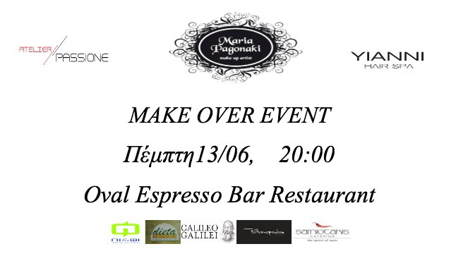 Make Over Event in Thessaloniki
