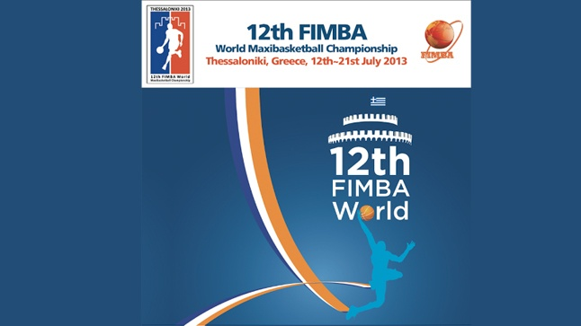 12th FIMBA World Maxibasketball Championship Thessaloniki 2013