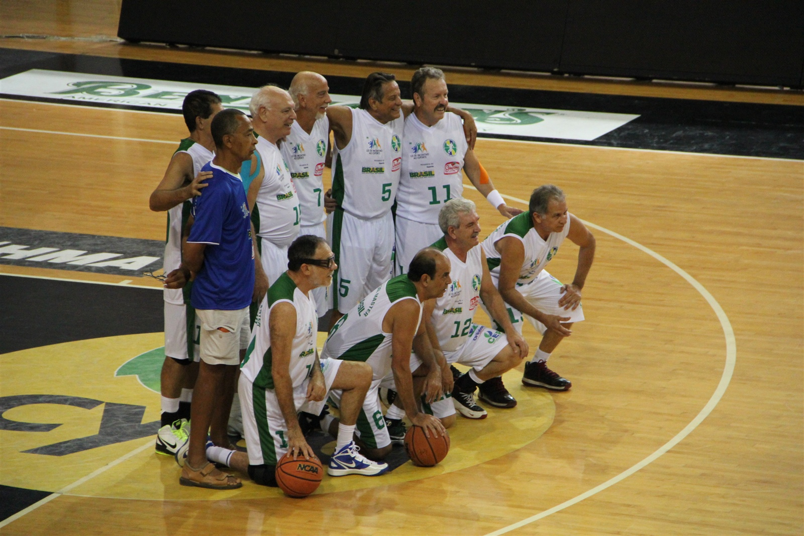 BRAZIL B VS THESSALONIKI GREECE