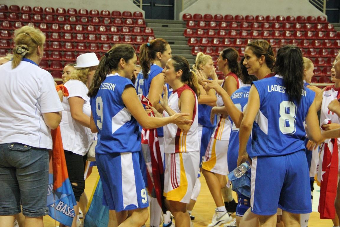 PAOK1| 35+F|GALATASARAY VETERAN WOMEN TURKEY - LADIES LEGION UKRAINE
