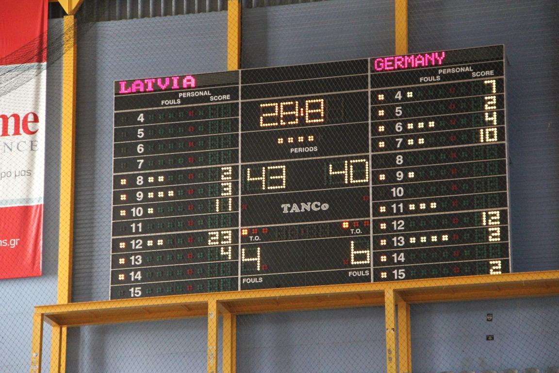 PAOK1| 55+F| ZELTENES LATVIA - GERMANY| Final