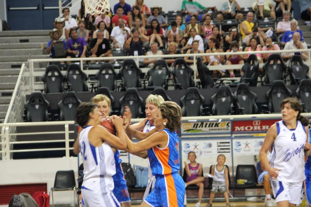 PAOK1| 40+F |BC SVAJA LITHUANIA - CARPATHIAN BEARS MUKACHEVO UKRAINE| Final