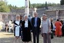 Επίσημη Τελετή στο Ασκληπιείο (Όρκος Ιπποκράτη) / Official Ceremony in Asklepieion (Hippokratic Oath)