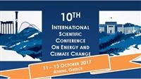 10ο Διεθνές Επιστημονικό Συνέδριο για την «Ενέργεια και την Κλιματική...