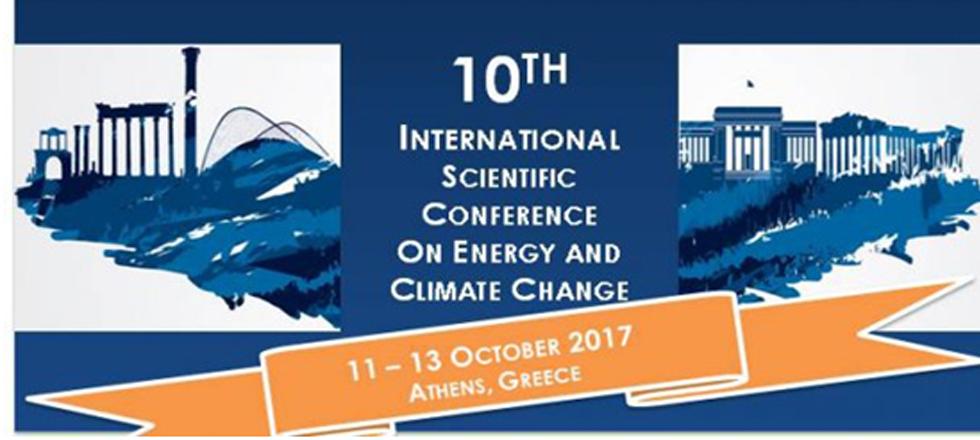 10ο Διεθνές Επιστημονικό Συνέδριο για την «Ενέργεια και την Κλιματική Αλλαγή»