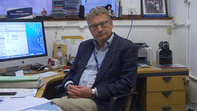 Dr Πέτρος Νιχογιαννόπουλος - Καθηγητής Καρδιολογίας Imperial College London