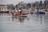 Στο μουράγιο των ψαράδων.