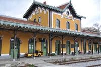 Σιδηροδρομικός σταθμός Βόλου.
