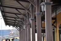 Λεπτομέρεια από το Σιδηροδρομικό σταθμό Βόλου.
