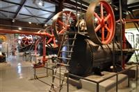 Εικόνες από το μουσείο πλινθοκεραμοποιίας. Το μηχανοστάσιο.