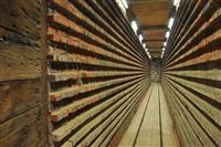 Εικόνες από το μουσείο πλινθοκεραμοποιίας. Τα ξηραντήρια.