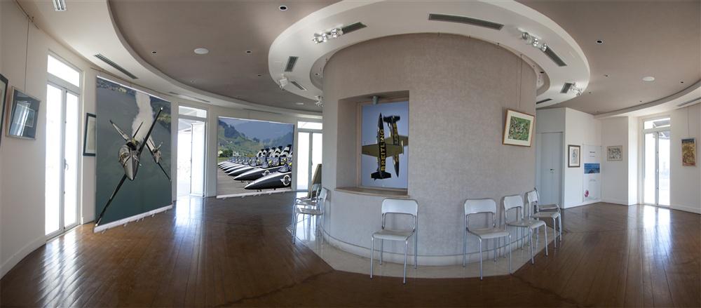 Εικόνες από την υποδοχή στο Φλοίσβο - Αεροπορική Επίδειξη από τους