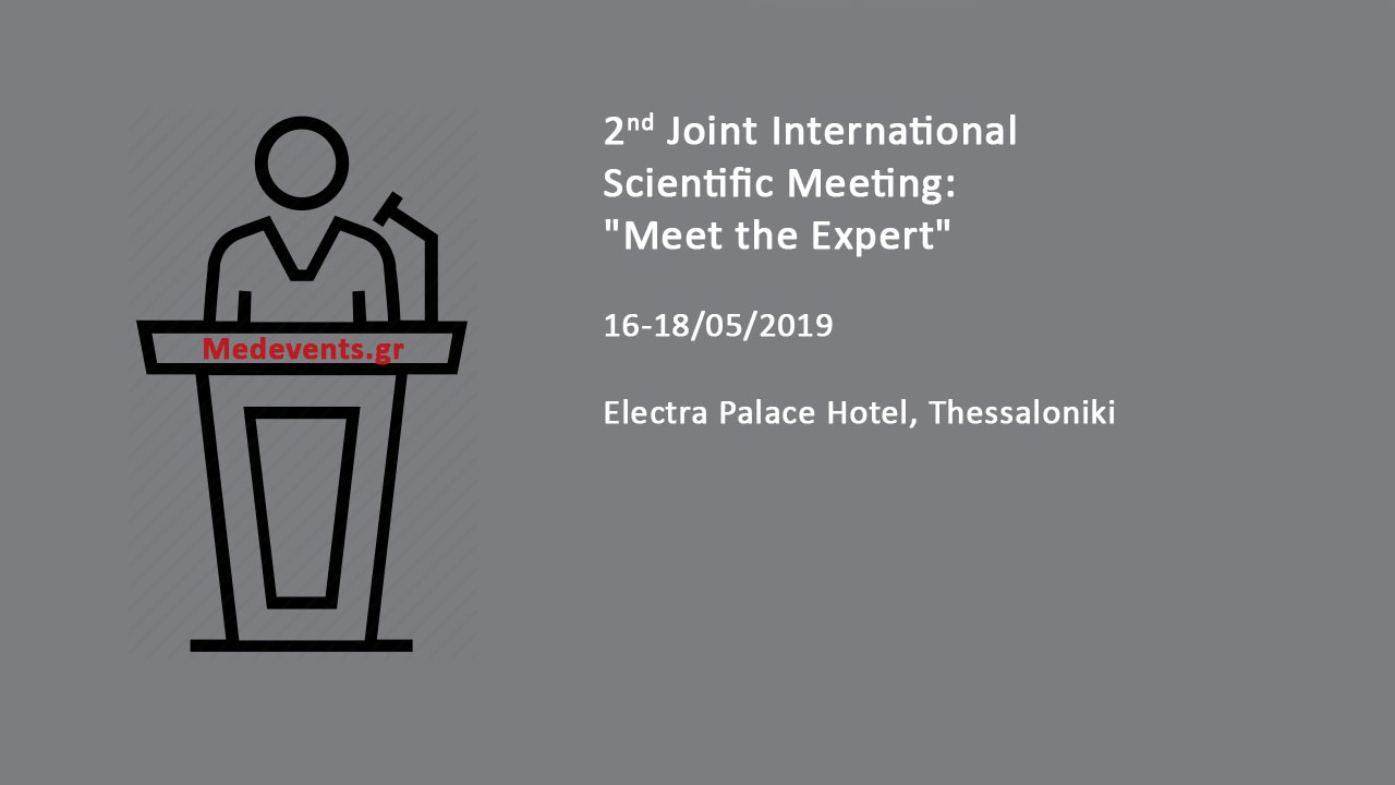 2nd Joint International Scientific Meeting: