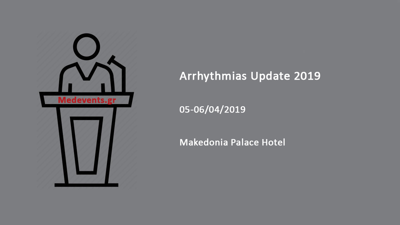 Arrhythmias Update 2019