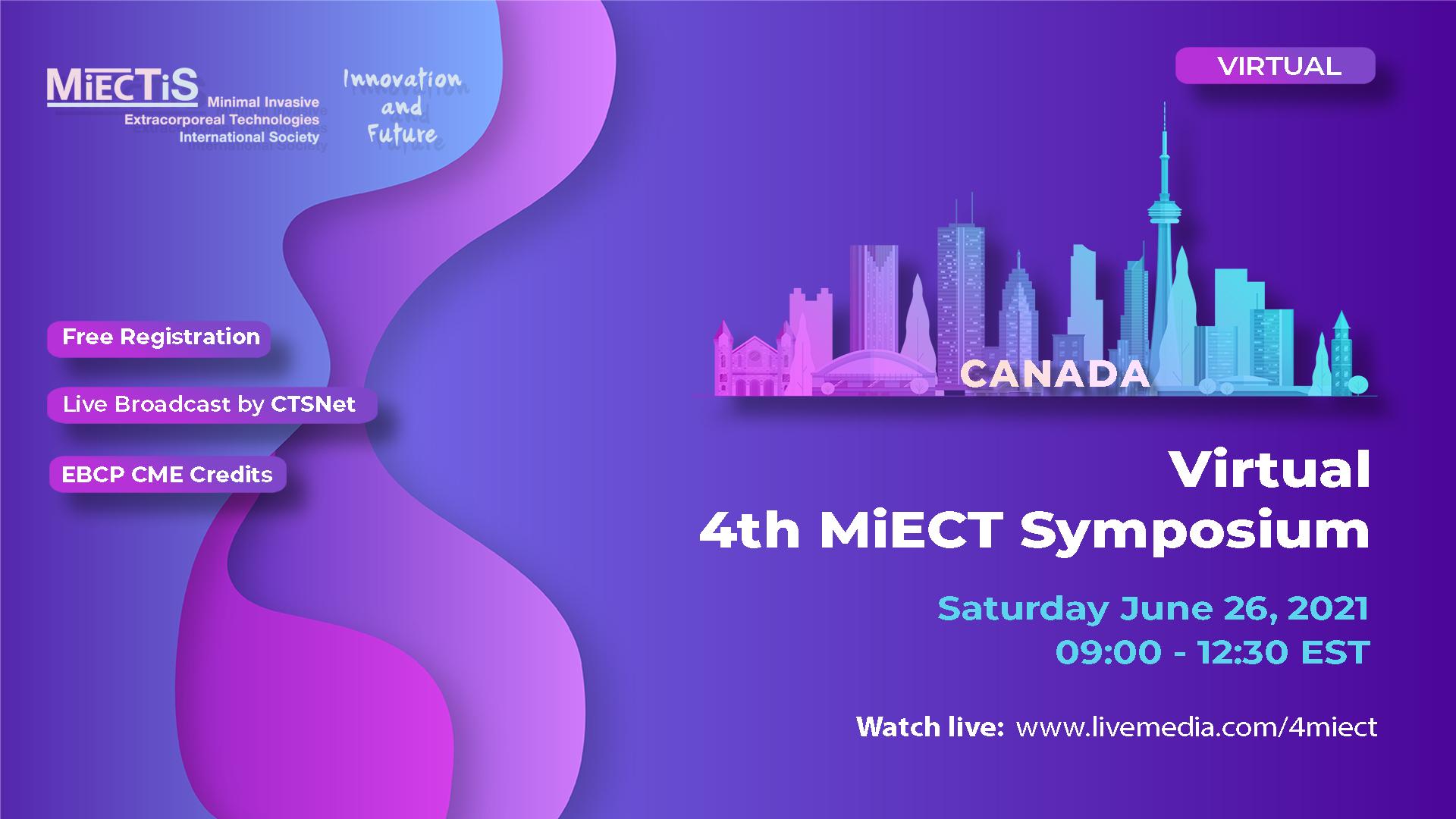 Virtual 4th MiECT Symposium