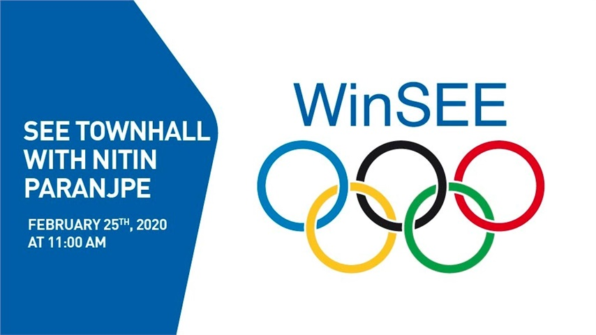 WinSEE TOWNHALL WITH NITIN PARANJPE